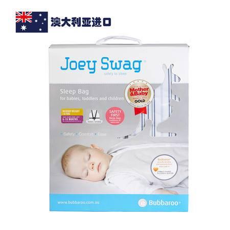 【AUBBV】Bubbaroo澳洲春秋款儿童牛仔蓝色条纹睡袋6-18个月