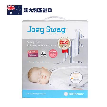 【AUBBV】Bubbaroo澳大利亚进口冬款儿童牛仔蓝条纹睡袋6-18个月