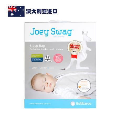 【AUBBV】Bubbaroo 澳大利亚进口全棉夏款儿童白色睡袋18-36个月
