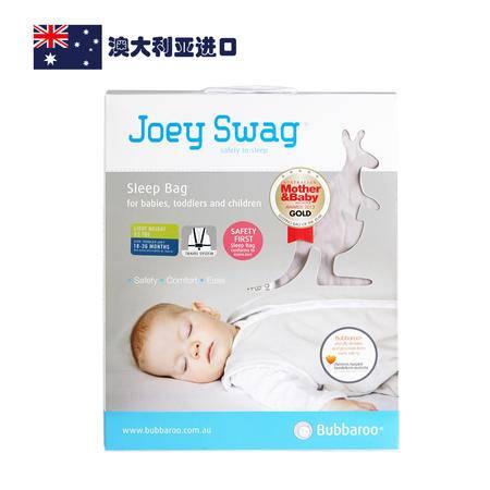 【AUBBV】Bubbaroo 澳洲进口 全棉夏款儿童摩卡色睡袋18-36个月