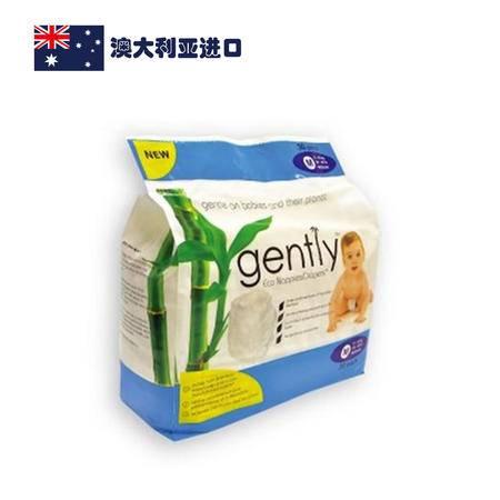 澳大利亚进口Gently 环保纸尿裤 中号 (9-18公斤)