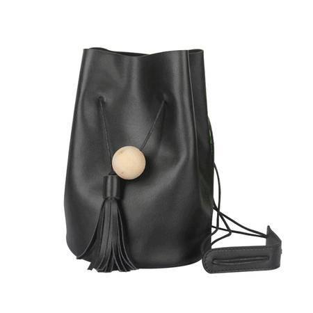 2015秋冬新款单肩水桶包单肩包头层牛皮纯色真皮女包水桶包小包
