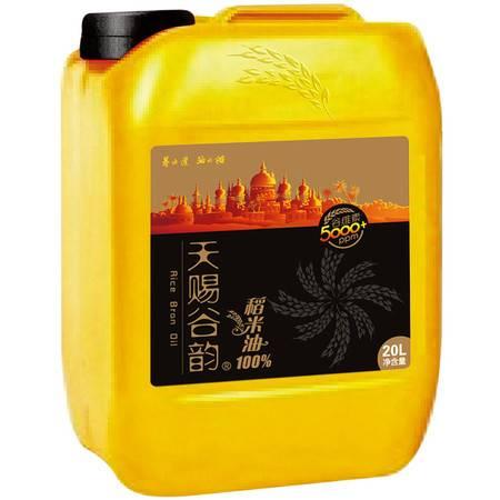 天赐谷韵 健康 稻米油米糠油 20L单桶