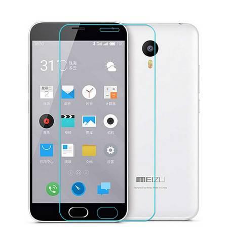魅族魅蓝note2 防爆钢化玻璃膜/手机保护贴膜 9H+弧边
