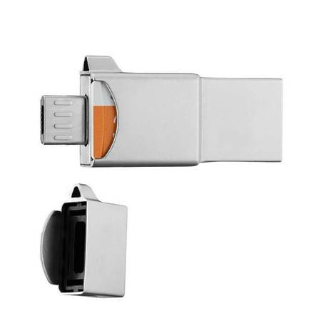 三星(SAMSUNG)16GB OTG 手机U盘 USB/micro USB双接口三合一存储新款