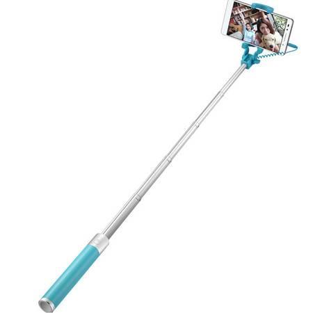 华为荣耀自拍神器 自拍杆 通用型自拍杆mate8 5x 荣耀7 p8自拍神器 蓝色