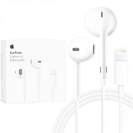 苹果耳机 iPhoneX/XR/XS/7/8/线控耳机 苹果原装耳机 标准lightning接口