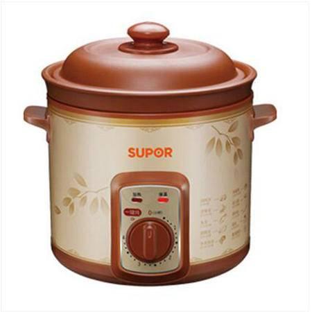苏泊尔/SUPOR  DKZ40B6-300电炖锅紫砂锅电炖盅煮粥煲汤锅全自动