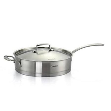 戴德 宙斯系列单柄不锈钢直煎锅连盖DD013