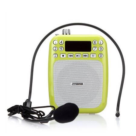 阿波罗(APORO)T5扩音器 双麦克数字选台小蜜蜂教学导游腰挂扩音器
