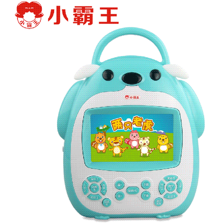 小霸王Q5儿童学习机婴幼儿视频故事机宝宝早教机多功能益智娃娃机
