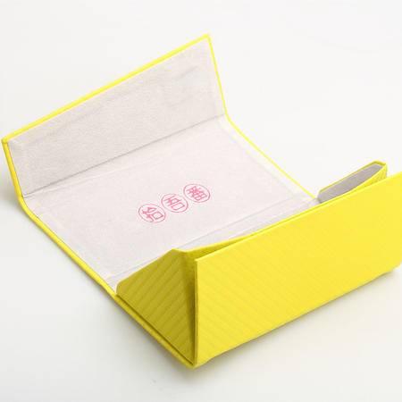 拾吾番折叠眼镜盒子 高档手工眼镜盒复古简约收纳盒超强抗压 包邮