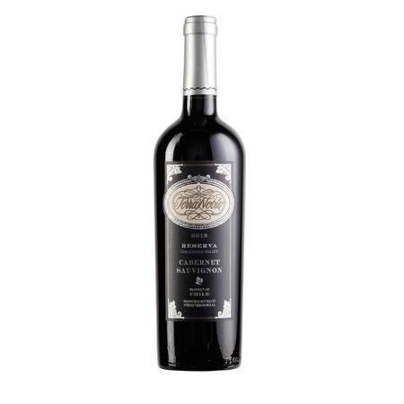 智利泰瑞贵族酒庄珍藏赤霞珠干红葡萄酒 原瓶进口 包邮