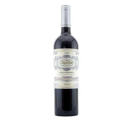 智利泰瑞贵族酒庄特级珍藏赤霞珠干红葡萄酒 原瓶进口 包邮