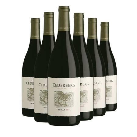 南非希德堡酒庄 西拉干红 原瓶进口葡萄酒 橡木桶陈酿15个月 包邮 6支装