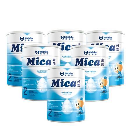 澳洲进口米加Mica自主吸收系列较大婴儿配方奶粉2段(6-12月)6罐装