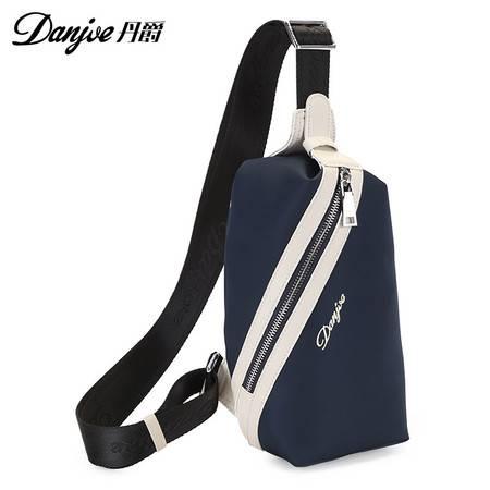 丹爵单肩斜挎包休闲包包背包女运动包腰包户外潮包男士胸包男包D8037