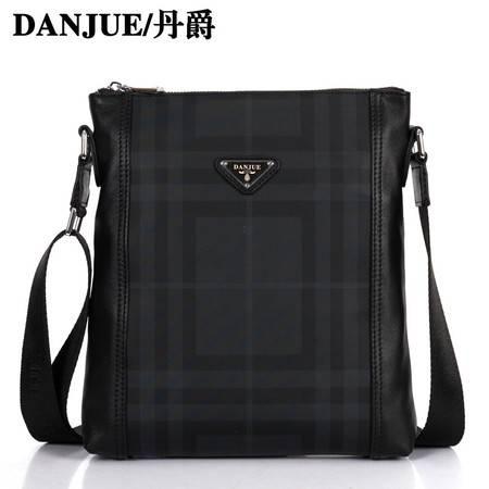 新款 正品丹爵 韩版 复古 时尚单肩包 斜挎包 休闲男包 潮包D8010