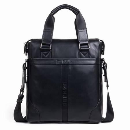 丹爵头层牛皮手提包单肩包商务时尚男包男士包新款包包D3041-3