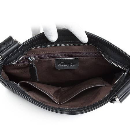 丹爵2016新款横款单肩包斜挎包商务休闲男士包包D90070-5