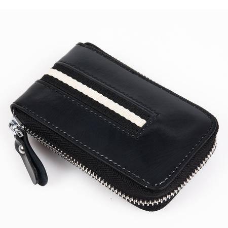 热卖 丹爵正品 牛皮 双色可选 时尚通用型钥匙包 男女通用型 潮