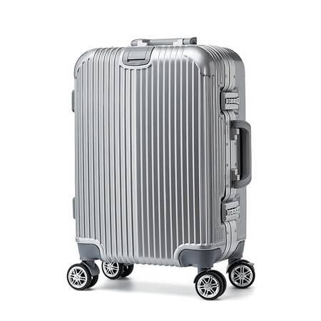 丹爵(DANJUE)新款铝框系列拉杆箱 28寸男女通用行李箱 万向轮旅行箱ABS+PC D23