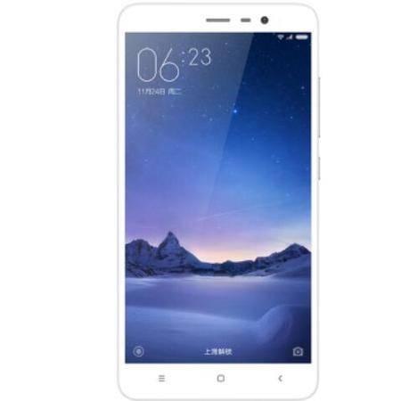 小米 红米Note 3 高配全网通版 银白色 移动联通电信4G手机 双卡双待