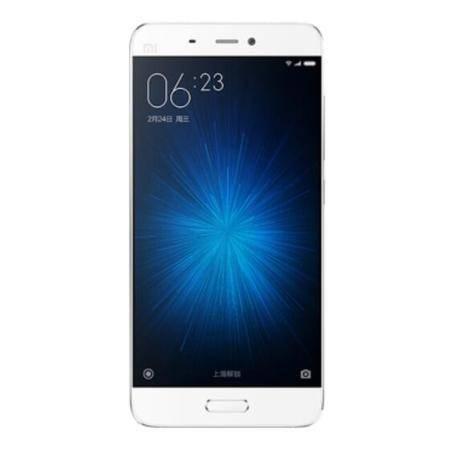 小米 5 全网通高配版 3GB内存 64GB ROM 白色 移动联通电信4G手机