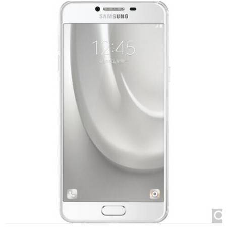 三星 Galaxy C5(SM-C5000)32G版 皎洁银 移动联通电信4G手机 双卡双待