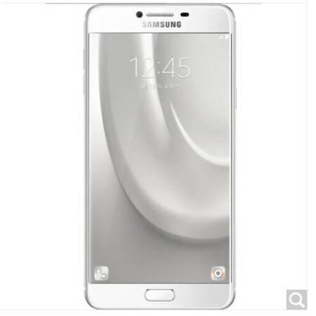 三星 Galaxy C7(SM-C7000)32G版 皎洁银 移动联通电信4G手机 双卡双待