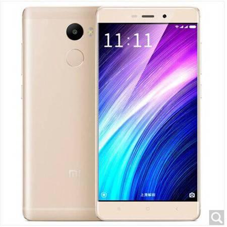 小米 红米4 全网通 4G手机 3GB+32GB 金色 高配版