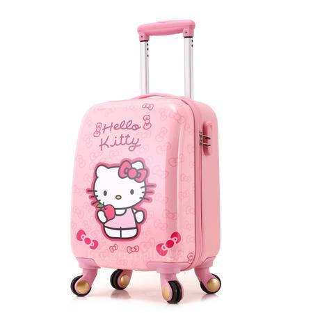 儿童拉杆箱行李箱子万向轮可爱小学生卡通旅行箱男女登机拖箱包18寸