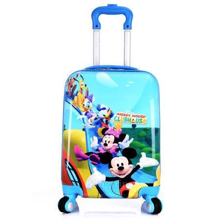 拉杆箱卡通儿童公主行李箱18寸万向轮旅行箱学生拉杆包登机箱男女