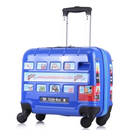 IY卡通拉杆箱万向轮儿童旅行箱可爱登机密码箱16寸男女箱包韩国