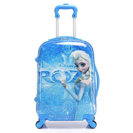 冰雪奇缘万向轮儿童拉杆箱20寸旅行箱ABS PC卡通行李箱登机箱