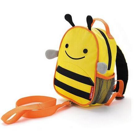 防走丢失婴幼儿童书包包双肩背包小孩子卡通保温午餐包零食包