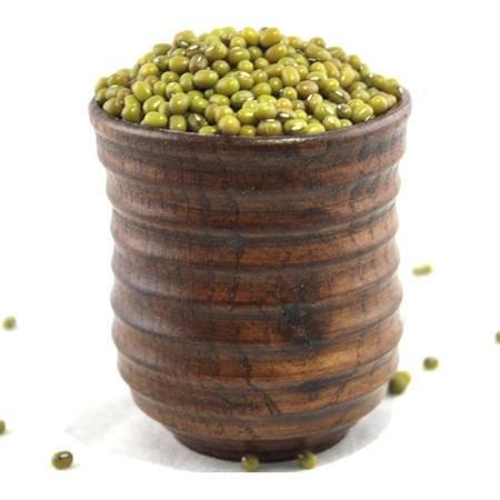 吉松岭牌东北农家绿豆 五谷杂粮农家新产品炭泉绿豆 2.5kg全国包邮