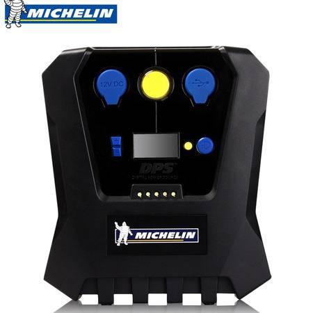 米其林 预设胎压计数显多功能 12V车载充气泵 汽车用轮胎打气泵
