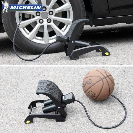 米其林便携式数显双缸 汽车充气泵 打气泵 摩托车 自行车 打气筒