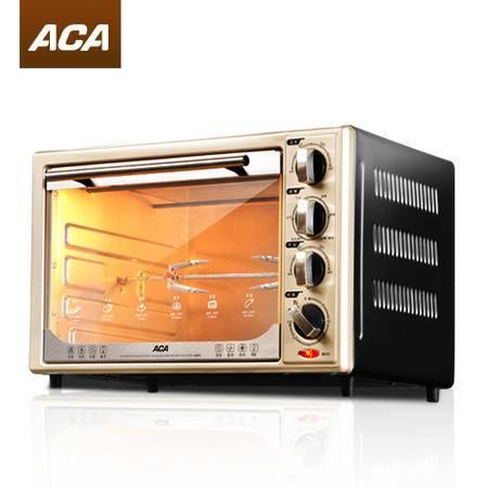 ACA/北美电器 ATO-BCRF32上下火独立控温电烤箱 家用烤箱包邮年货