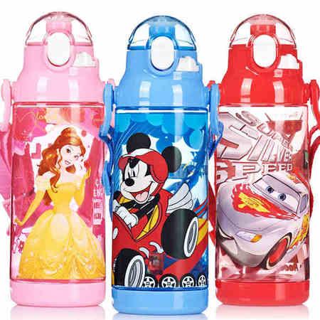 迪士尼米奇公主儿童小学生卡通直饮杯水杯塑料水杯