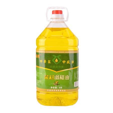 果棵鲜  茶籽调和油  5L