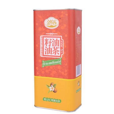 金皖西  油菜籽油 1.8L