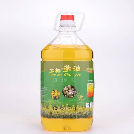 东橄茶油  食用油  5L