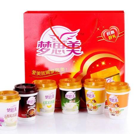 霍山馆  山葛老 梦思美奶茶 组合装  80g*12杯