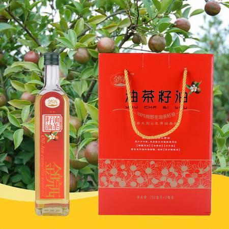金皖西  油茶籽油1500ml