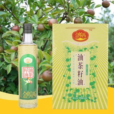 金皖西  油菜菜籽油  500ml2瓶