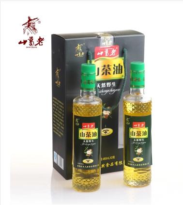山葛老 野生山茶油  480ml    2瓶装