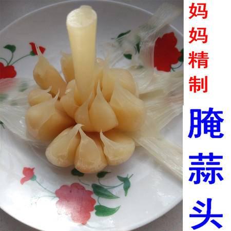 霍山土特产 农村腌蒜头 咸菜泡菜下饭菜1000g散装