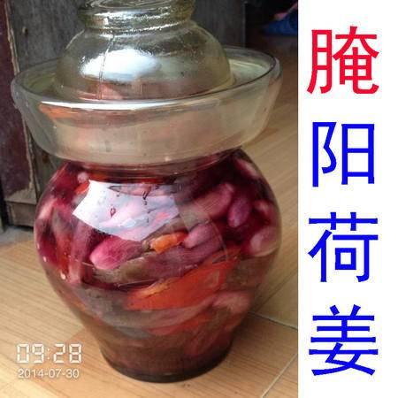 霍山散装自制泡菜 野生 腌洋荷姜腌阳荷姜阳藿姜莲花姜野姜洋河姜